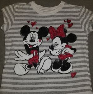 Mickey and Minnie shirt